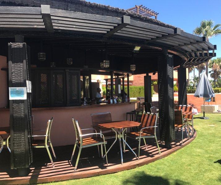 Pool restaurant/bar open in summer months