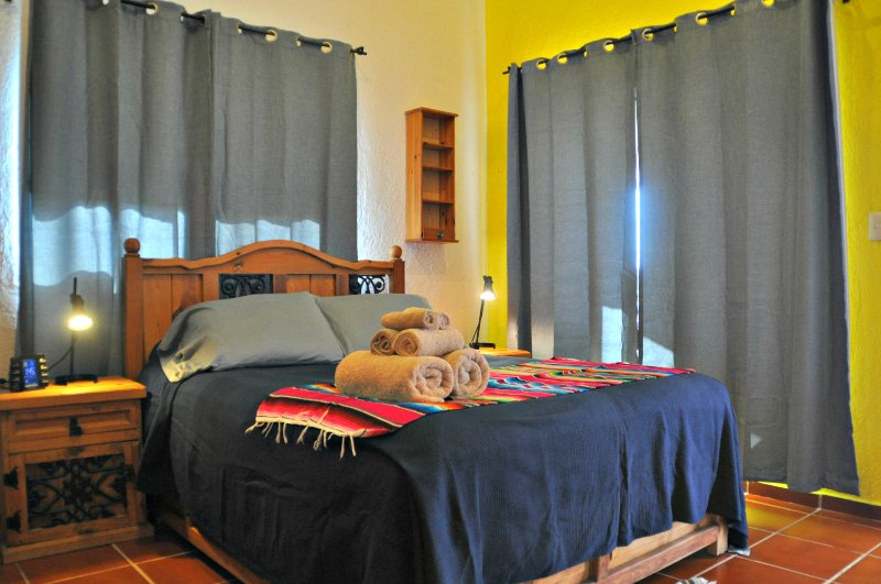1 bedroom with loft & 2 bathrooms, steps from the beach in Puerto Morelos.