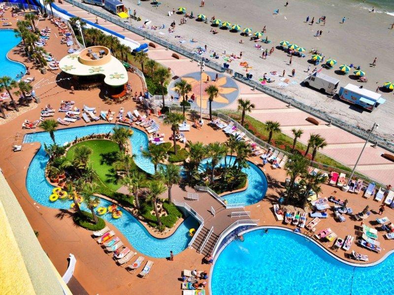 Beachy Club Wyndham Ocean Walk, 2 Bedroom Deluxe, holiday rental in Holly Hill