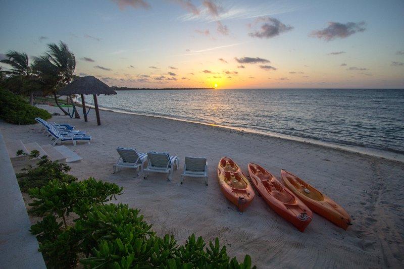 Lever de soleil sur Soliman Bay