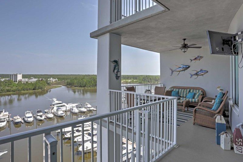 Situato in posizione centrale, questo condominio per le vacanze sul mare vi aspetta!