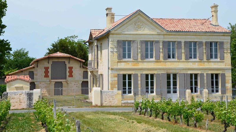 Château in Médoc, swimming pool- vineyards-ocean, Ferienwohnung in Prignac-En-Medoc