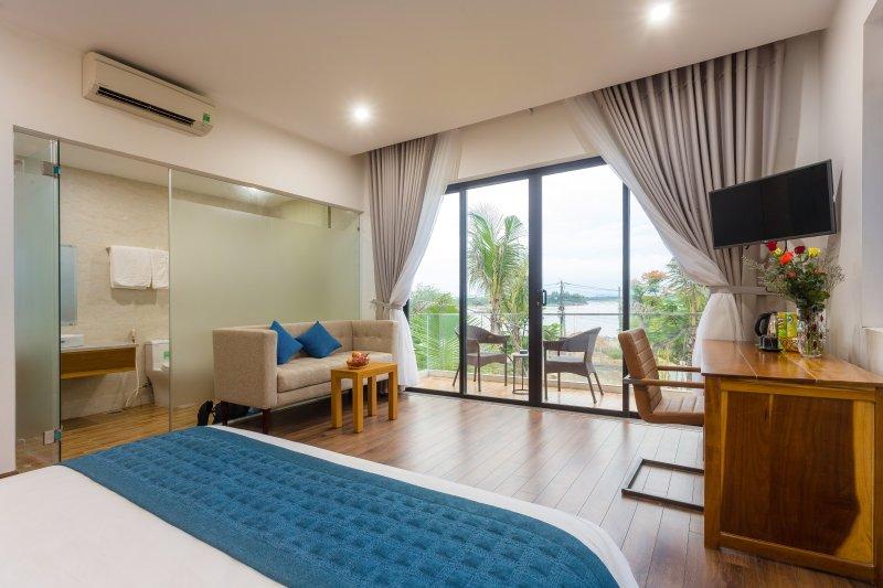 Villa privada con 4 dormitorios.