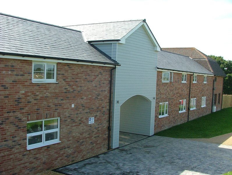 The Gallops Arranged around a beautiful landscaped courtyard the Gallops is a pedestrian quadrangle