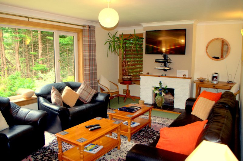 Meiklie Lodge Loch Ness, holiday rental in Cannich