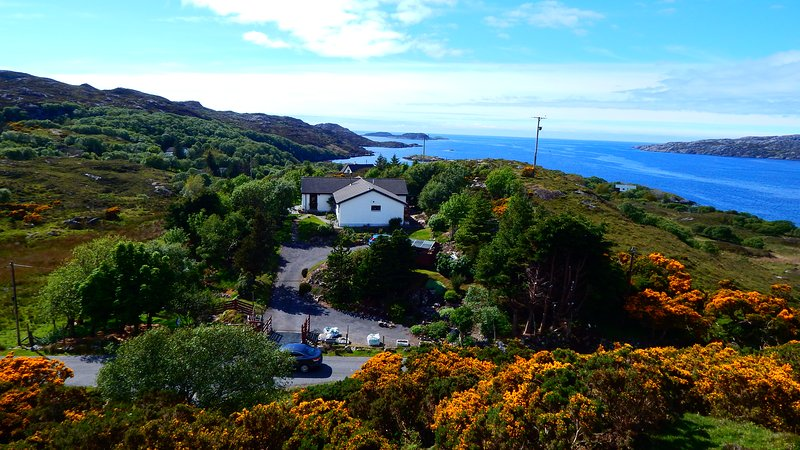 Cruachan Holiday Home | North Coast 500 Convenience, location de vacances à Drumbeg