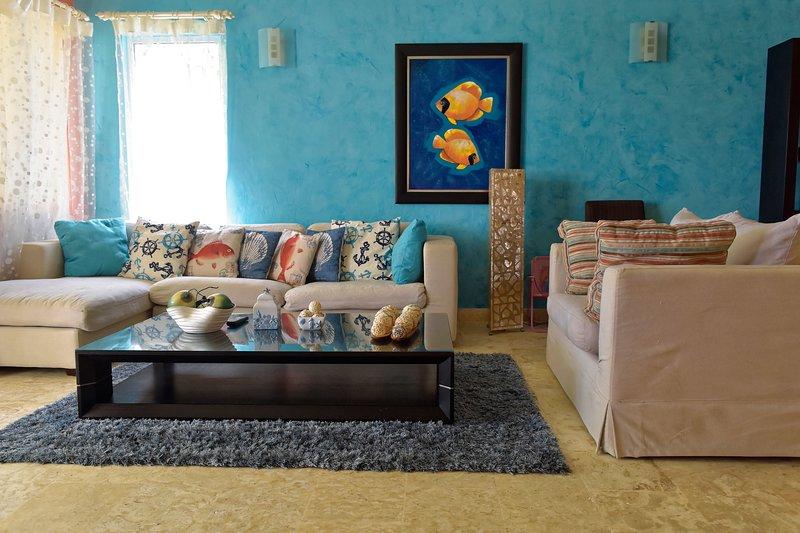 espace confortable et familier qui invite à la détente.