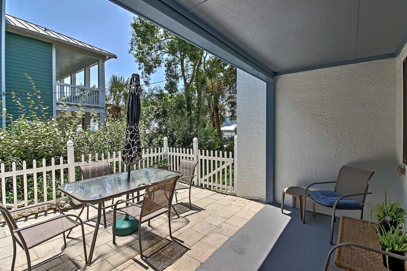 Tutti di Panama City Beach vi attende in questo 2 camere da letto, 1,5 bagno di casa vacanze!