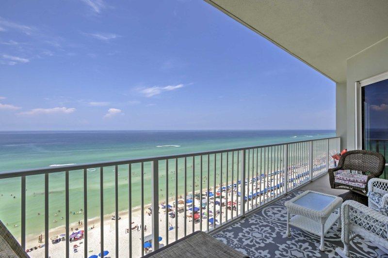 Explore Florida's Gulf Coast from this 3-bedroom, 2-bathroom Panama City Beach vacation rental condo.