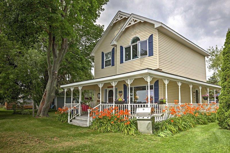 ¡Abrace unas vacaciones relajantes en esta casa de alquiler de Pillar Point!