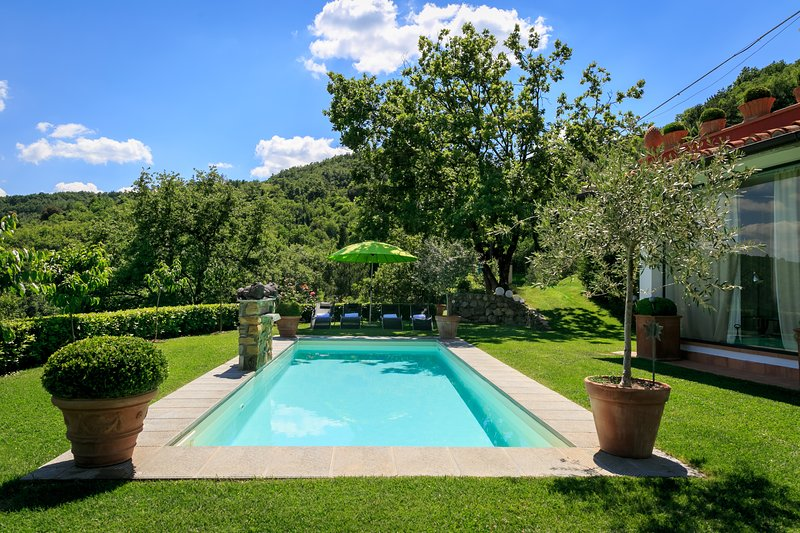 Villa Limonaia, stunning villa with pool near Florence, alquiler de vacaciones en Bagno a Ripoli