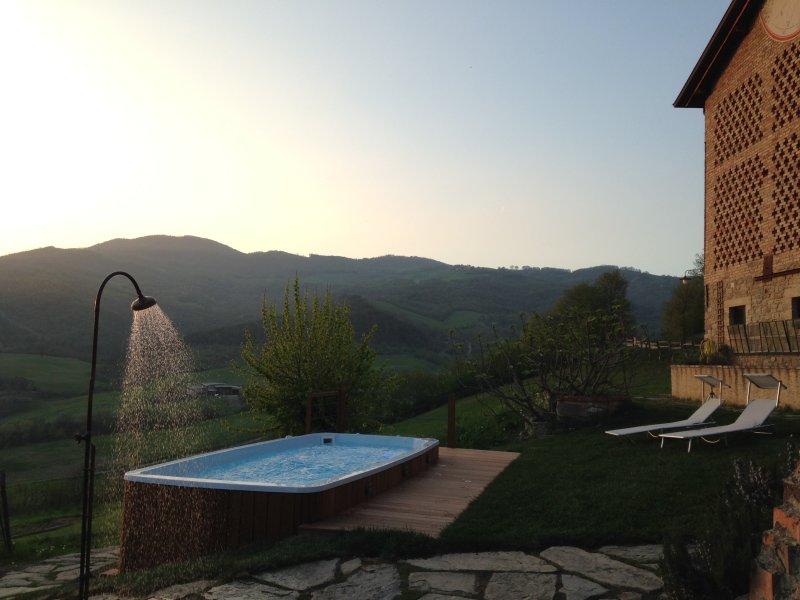 Al Merlo Angelico - Antico Casale, holiday rental in Calestano