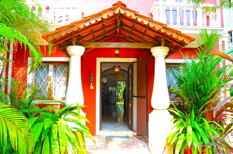 Back Door of Villa
