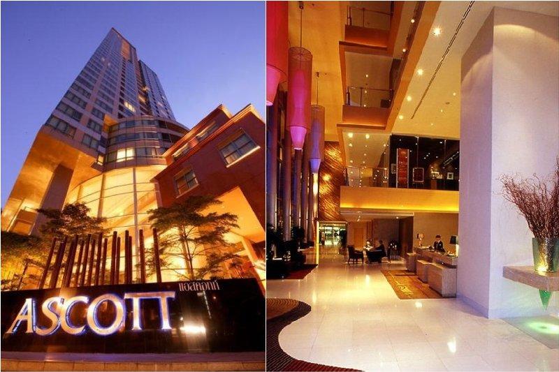 Elegant shared Ascott Hotel premises