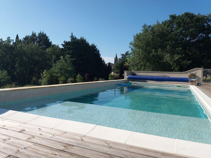 Gîte*** Madé II Sud Ardèche aupredelamade, location de vacances à Villeneuve-de-Berg