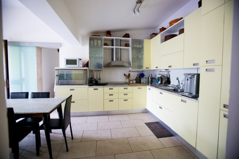 Huge eat-in kitchen with all comfort and quality items.