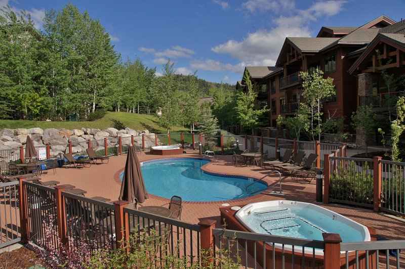 This Pool and Hot Tub area is the closest of the 4 that you can choose from