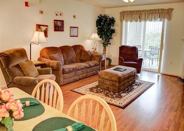Piso de madeira na sala de estar