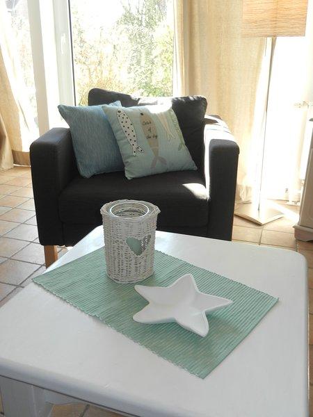 North Sea Jewel House - Detalle de la sala de estar