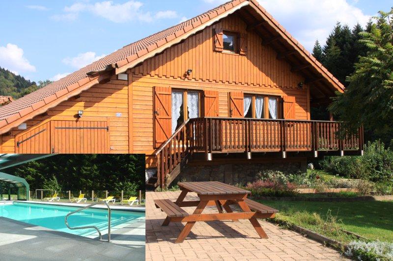GITE ROCHE DES DUCS Chalet n° 12, location de vacances à Rochesson