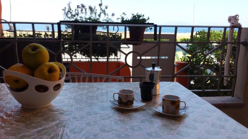 Veranda sea view to admire the wonderful panorama of the Aeolian islands