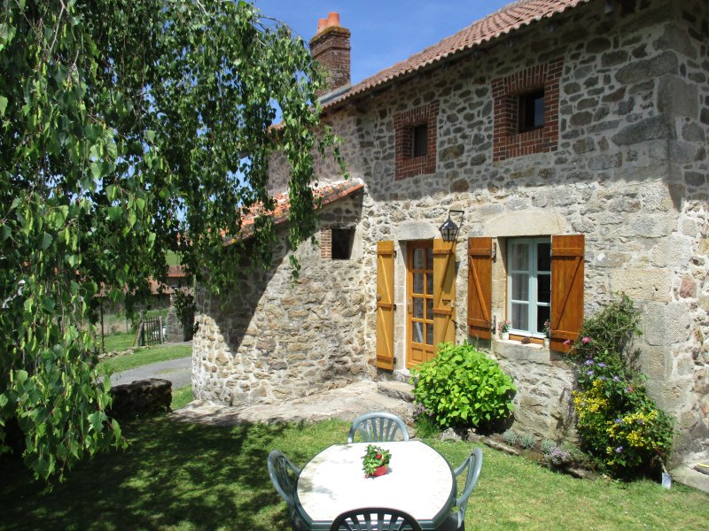 Bread Oven Cottage, vacation rental in Saint-Auvent