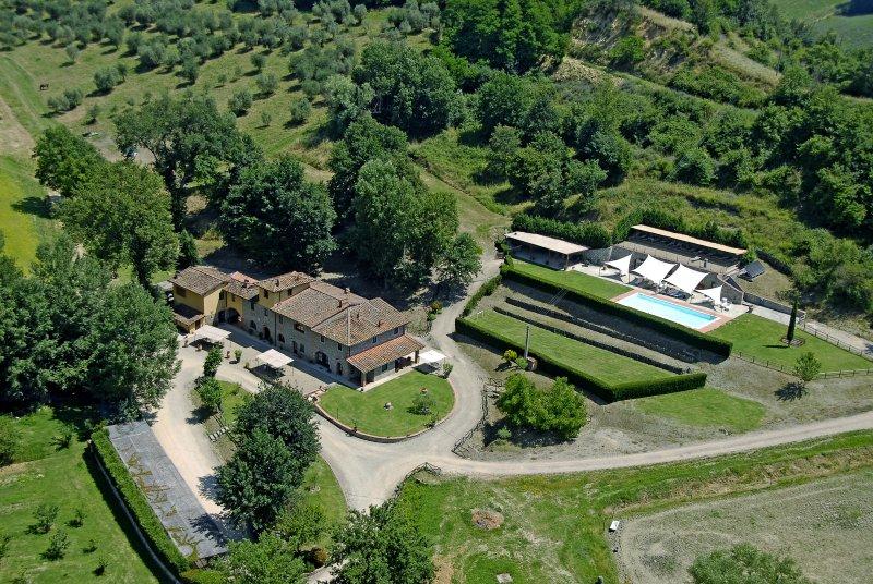 Agriturismo vicino Firenze  app.SALICE, location de vacances à Lagaccioni