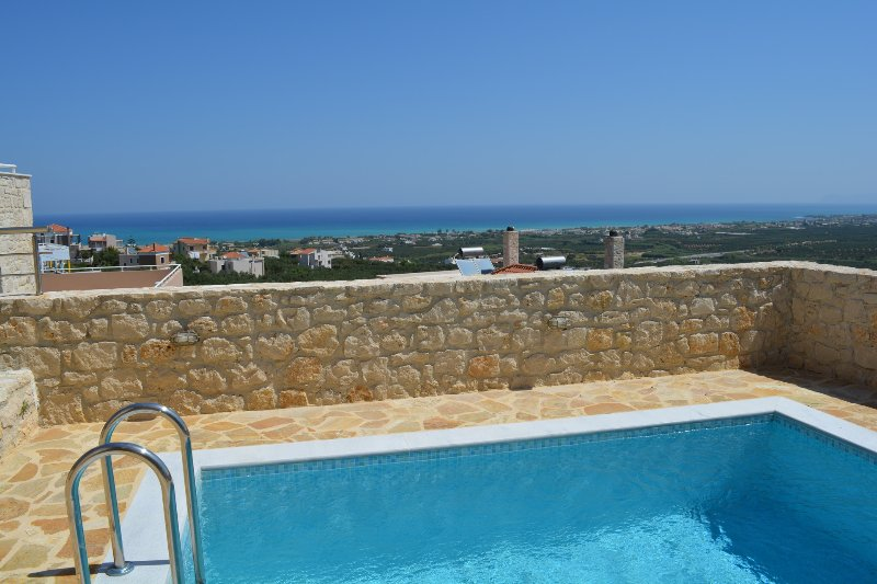 Enjoy the sea view from the pool area