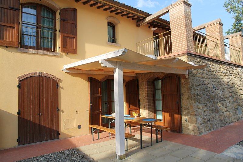 borgo del silenzio OLIVO, vacation rental in Lajatico
