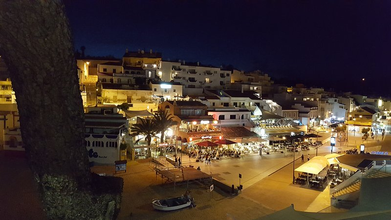 Carvoeiro at night 10 mins drive