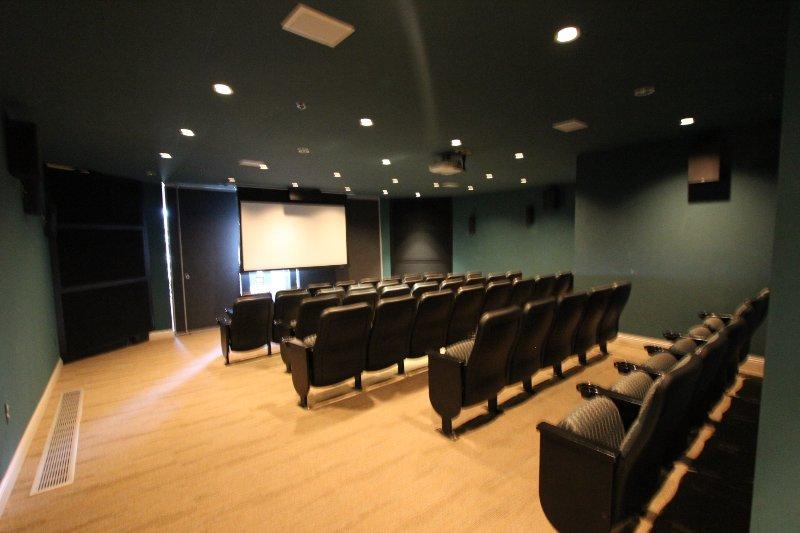 On site Movie Theater