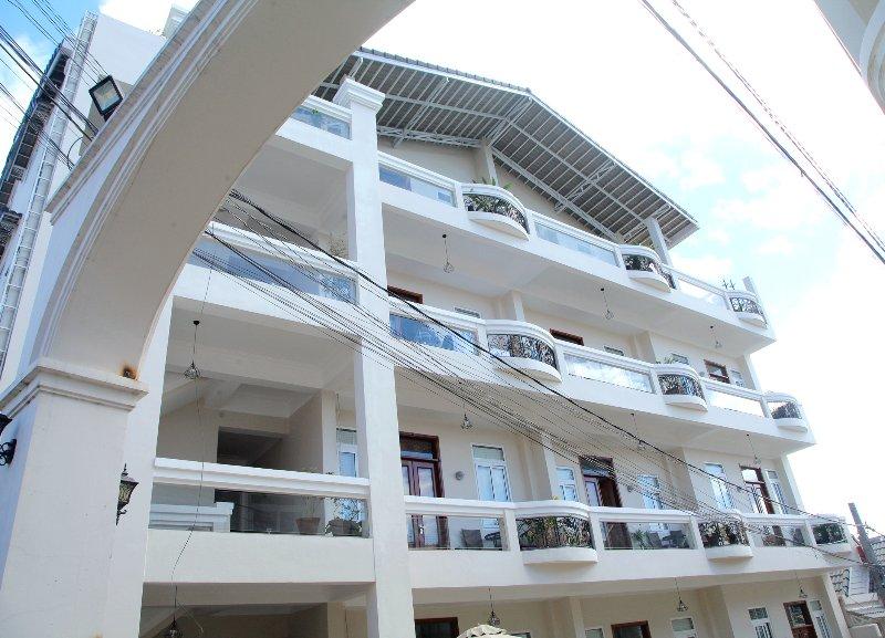 Apartment hotel exterior