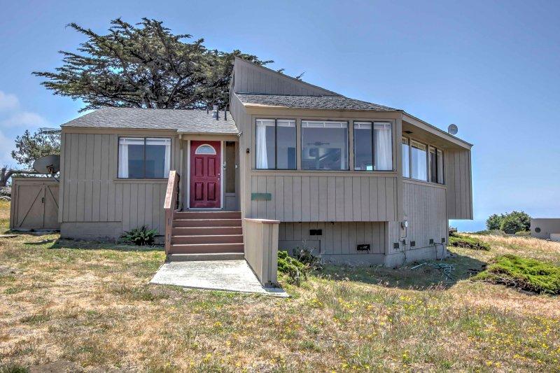 La propiedad de 1.100 pies cuadrados es la escapada costera ideales California.