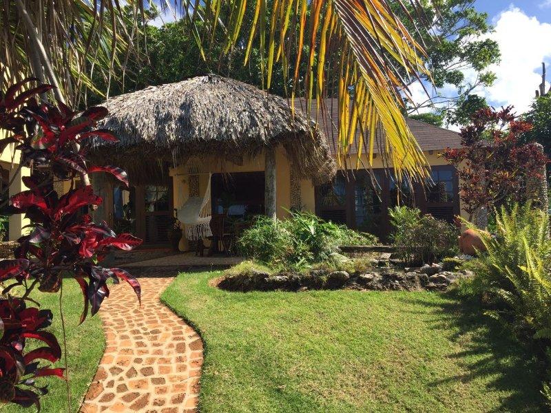 Villa Atlantis cottage breathtaking ocean view, holiday rental in Maria Trinidad Sanchez Province