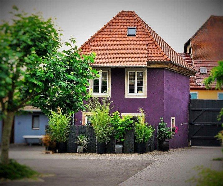 Maisonette courtyard