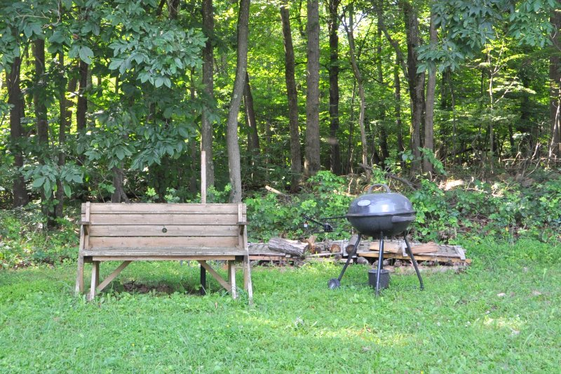 Grill your favorite meal and kick back to the sounds of nature.