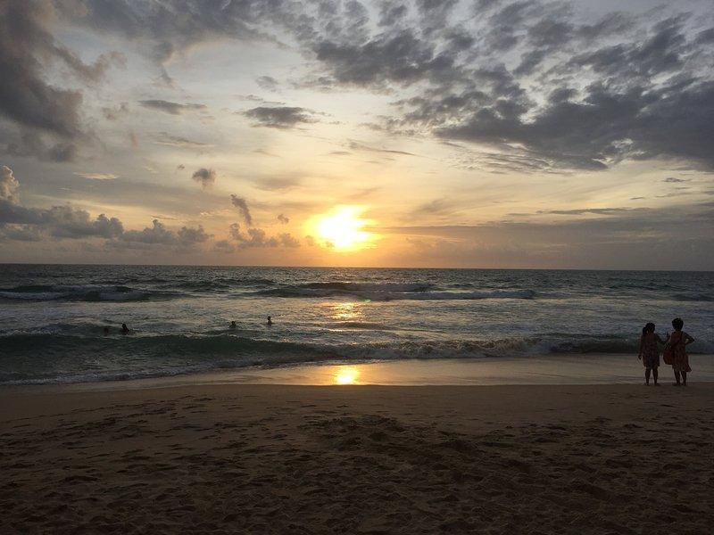 Surin Beach sunset