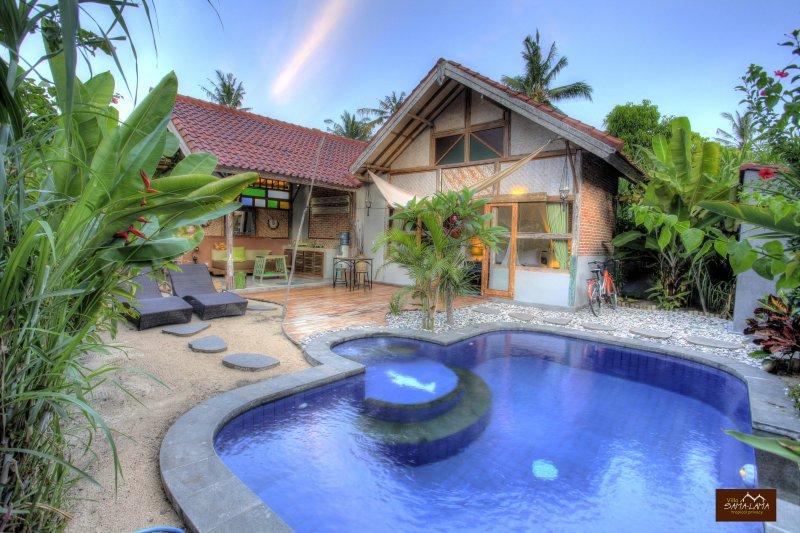 Villa Samalama one bedroom private pool Gili Air, holiday rental in Gili Air
