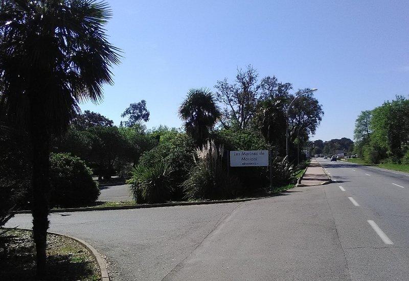 Acceso directo desde la carretera Bastia - Bonifaccio