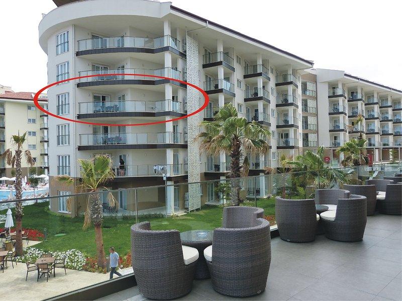 Privates Luxusapartment, direkter Meerblick, Ramada Resort Kusadasi, AI optional, aluguéis de temporada em Selcuk