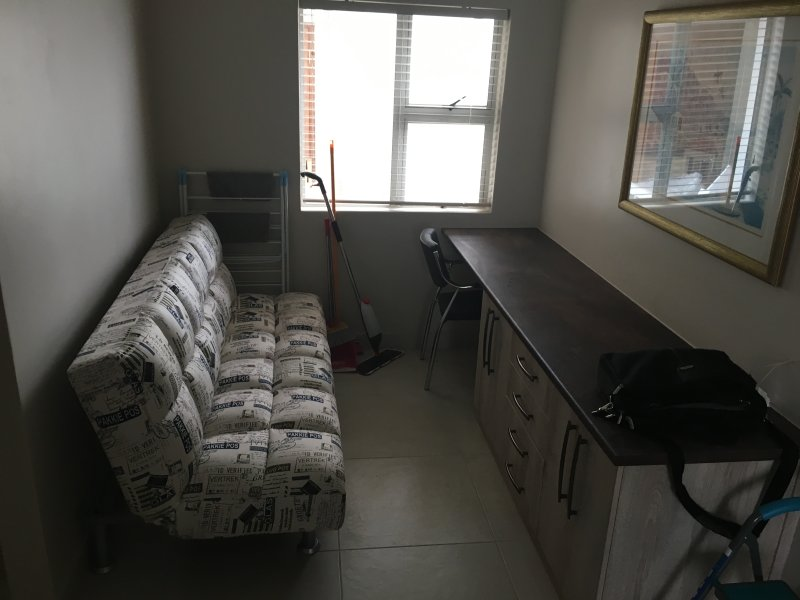 Study with additional sofa bed, for two people