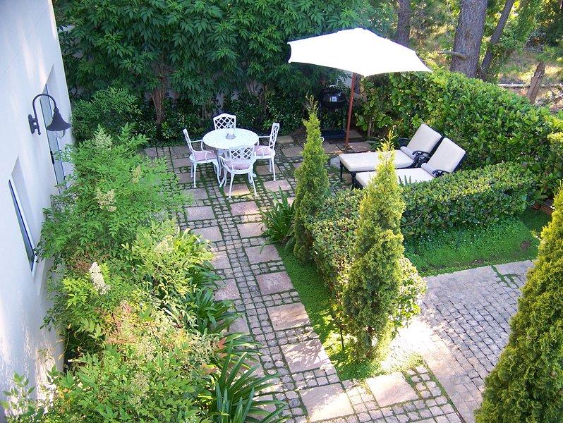 Apartment 1 - Patio