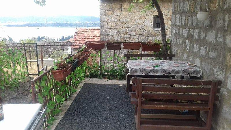 Terrace as the smoking area