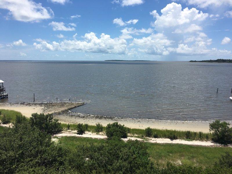 Hermosa vista del Golfo