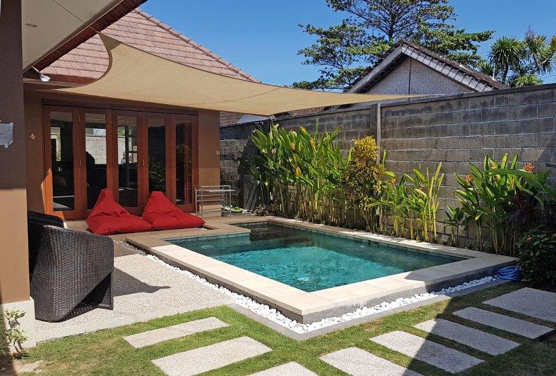 Cozy 2 bedrooms pool Villa in Sanur, Suka 1, holiday rental in Sanur
