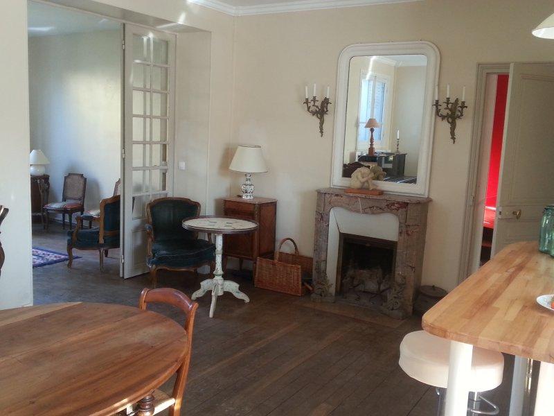 Maison familiale à 15 mn de Dysney, holiday rental in Villiers-sur-Morin