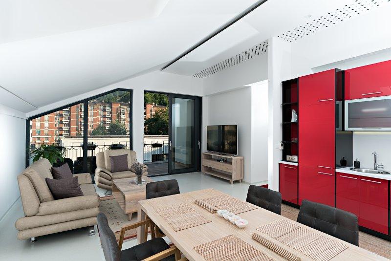 Luxury Modern Penthouse D - Sarajevo Downtown, holiday rental in Sarajevo