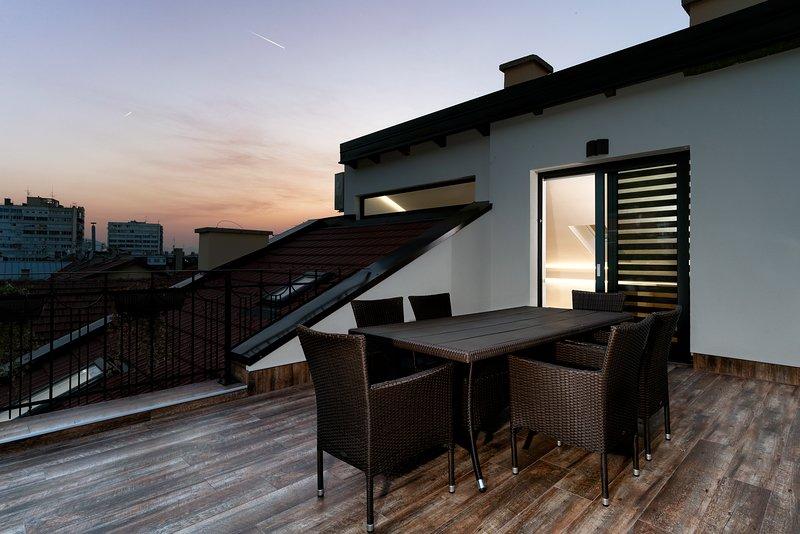 Luxury Modern Penthouse L - Sarajevo Downtown, holiday rental in Sarajevo