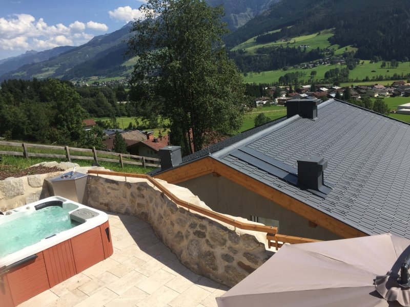 Dopplerhaus Holiday Home, apartment Blue, holiday rental in Enzingerboden