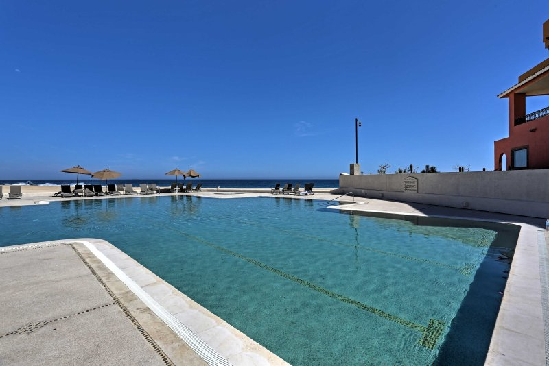 Escape to the Mexican coast by staying in this 1-bedroom, 1-bathroom  Cabo San Lucas condo!